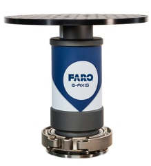 FARO 8-axis scanning platform plugs in to FARo Edge arms